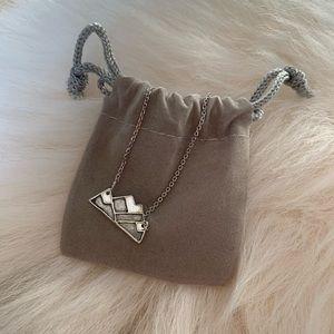 Handmade mountain necklace